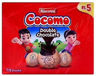Bisconni Pack Of 24 Cocomo Ticky Pack Pouch