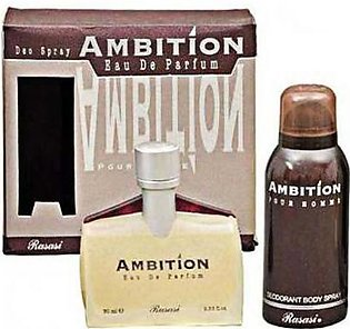 Rasasi Ambition For Men With Deo 75 ml