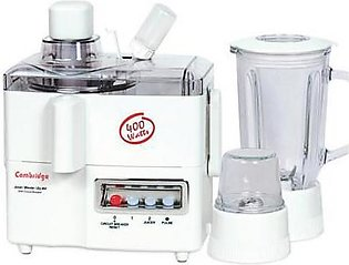 Cambridge 3 in 1 Juicer Blender JB660 White