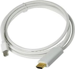 Thunderbolt Mini Displayport To Hdmi Cable White