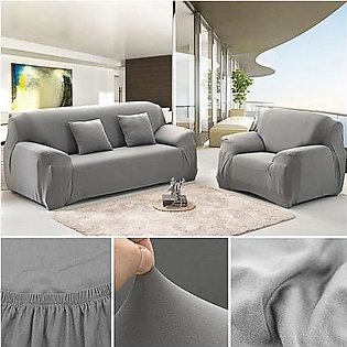 7 Seater Sofa Cover Grey