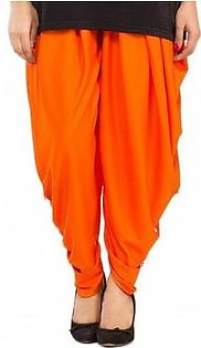 Tulip Shalwar with Pearls DOHG-203 Orange