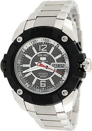Seiko Watch for Men SKZ261K1 Silver
