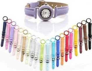 21 In 1 Colors Interchangeable Ladies 2 Watches Set Blue