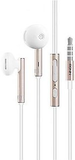 Ronin Extreme Sound Earphones R-725 White Gold