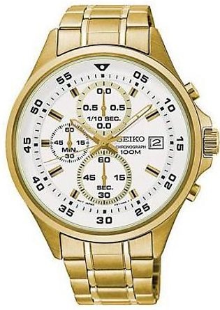 Seiko Watch for Men SKS632P1 Gold