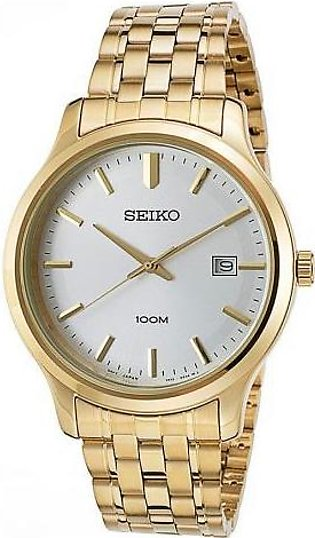 Seiko Watch for Men SUR148P1 Gold