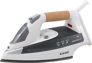 Gaba National Deluxe Light Weight Steam Iron GN-202 White & Grey