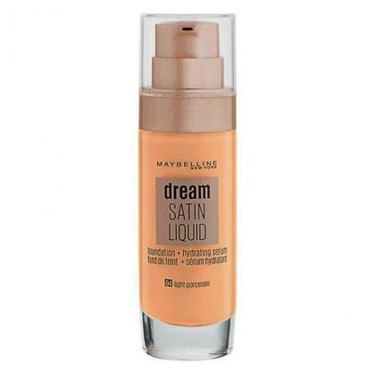 Maybelline Dream Satin Liquid Foundation 4 Light Porceian