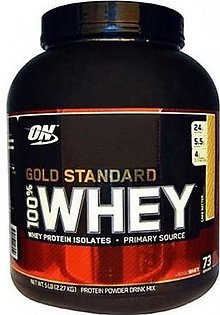 Optimum Nutrition Gold Standard 100% Whey Protein 5 lbs Cake Batter