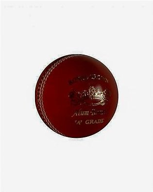 Aastarz Royal Crown Leather Cricket Ball Red