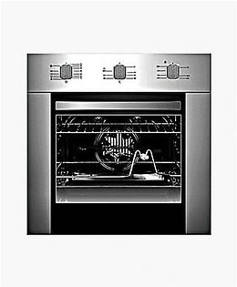 Canon 56 Ltr Electric Oven 8 Functions Black & Red