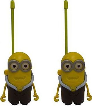 Minion Character Walkie Talkie Set PX-10233 Multicolor