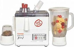 Cambridge  Juicer Blender 3 In 1 JB-70 White