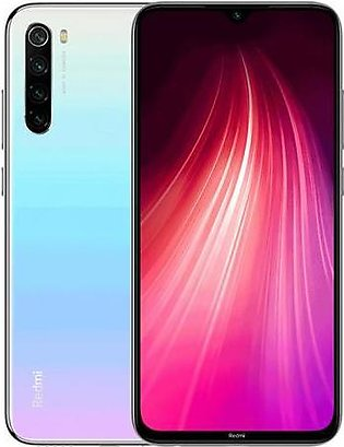 Xiaomi Redmi Note 8 | Dual Sim | 4GB RAM |64GB ROM | Moonlight white