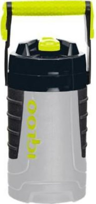Igloo Half Gallon Water Bottle 41892 Grey and acid green