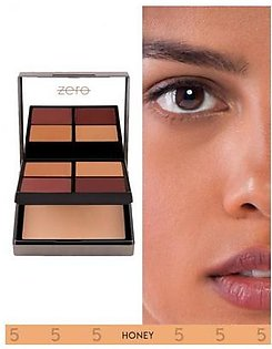 Zero Makeup All In One Face Perfecting Palette Honey