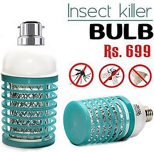 Insect Killer Led Anti-Mosquito Device Screw Holder Green
