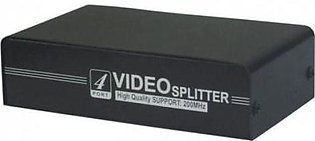 VGA Splitter 200 MHz 4 Port Black