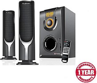 Audionic Multimedia 2.1 channel speakers AD7000 Multi Color