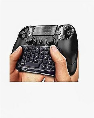 Wireless Keyboard - Playstation 4 - Black