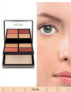 Zero Makeup All In One Face Perfecting Palette Pearl