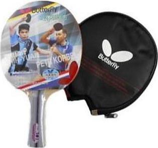 Butterfly Table Tennis Racket with Cover Multicolor
