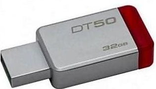 Kingston USB 3.0 Data Traveler 50 32GB Silver & Red