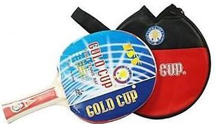 Gold Cup Table Tennis Racket DWS69 Red & Black