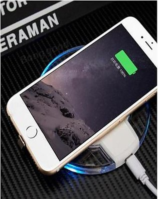 HKT Wireless Charger For Samsung S6 - White
