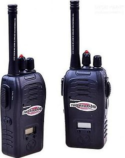 2 Way Rechargeable Radio Walkies Talkies Toy For Kids