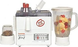 Cambridge 3 in 1 Juicer Blender JB70 White