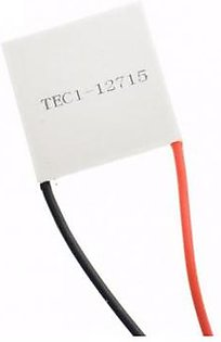 Cooler Peltier Module 12V 15A With Thermal Paste TEC1-12715 White