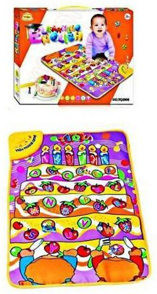 Learning Carpet for Kids Multicolor