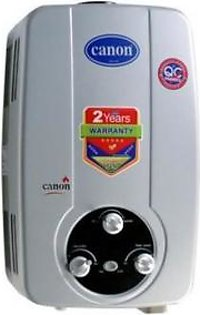 Canon Instant Geysers Gas Water Heater 16 D Plus 6 Ltr Flame Out Protection Silver