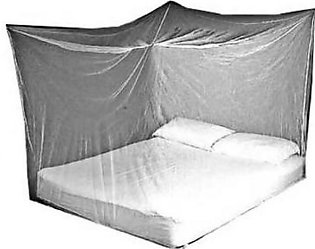 Hanging Mosquito Net for Double Bed Grey