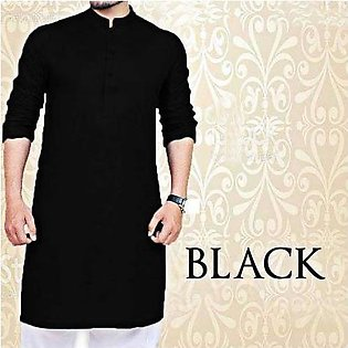 Plain Kurta For Men SD-005 Black