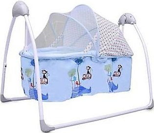 Baby Cot Cradle With Movable Basket & Mosquito Net RB-0106