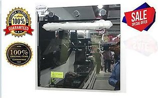 Canon 72 Ltr Gas & Electric Oven 8 Functions Black & White