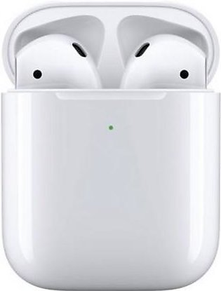 Apple Airpods 2 with Wireless Charging Case MRXJ2 White