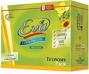 Eva Cooking Oil Econo Pouch 1 x 5 Ltr