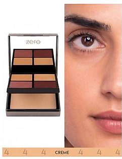 Zero Makeup All In One Face Perfecting Palette Creme