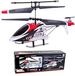 High Vmax Rc Helicopter 3 Channel Alloy Model