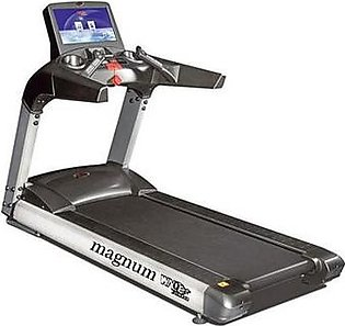 LCD 8900A-TV - Magnum WNQ Commercial Treadmill With XL & HD - Grey