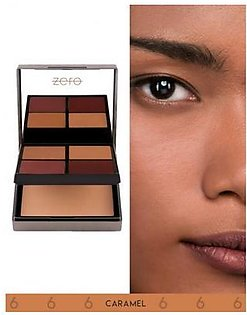 Zero Makeup All In One Face Perfecting Palette Caramel
