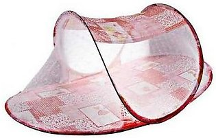 Mosquito Net for Bed Red
