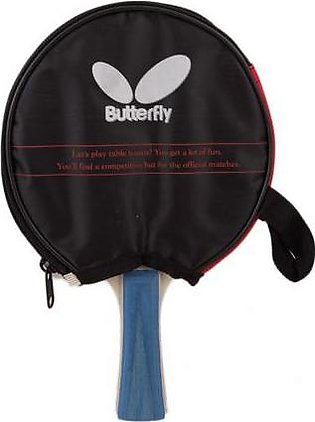 Butterfly Single Table Tennis Racket With Pouch SP-011 Multi Color