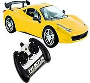 1.14 Scale Remote Control Car Chargeable Yellow
