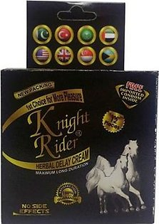 Pack Of 12, 2 In 1 Knight Rider Condom Plus Cream
