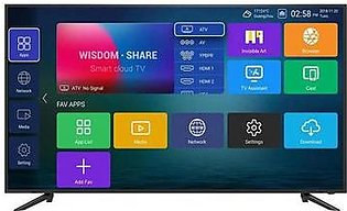 "Changhong Ruba 55"" 55F5908I Smart Android Led Tv Black"